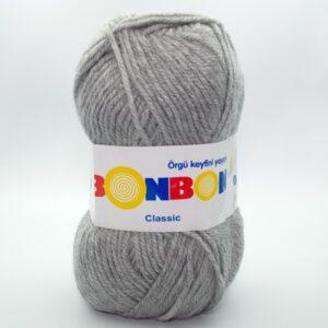 Пряжа Nako Bonbon Classic 98233 светло-серый