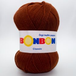 Пряжа Nako Bonbon Classic 98322 терракотовый