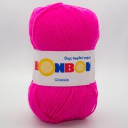 Пряжа Nako Bonbon Classic 98396 неоновый розовый