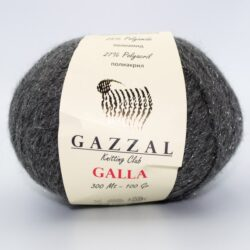 Пряжа Gazzal Galla 60 темно-серый