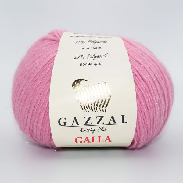 Пряжа Gazzal Galla розовый