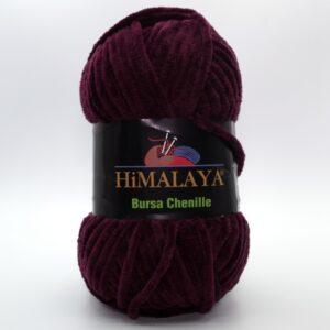 Пряжа плюшевая Himalaya Bursa Chenille бордово-фиолетовый