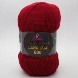 Пряжа Himalaya Lana Lux 800 74612 красный