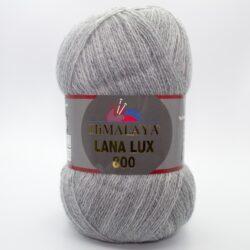Пряжа Himalaya Lana Lux 800 74635 серый