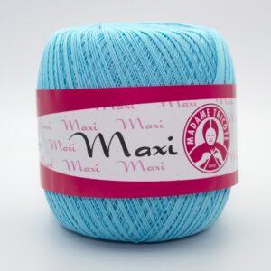Пряжа Madame Tricote Maxi 5353 нежная бирюза