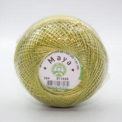 Пряжа Madame Tricote Maya 364 зеленый