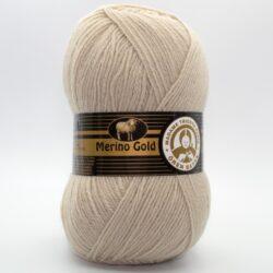 Пряжа Madame Tricote Merino Gold 130 светло-бежевый