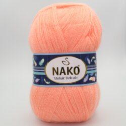 Пряжа Nako Mohair Delicate 6115 персик