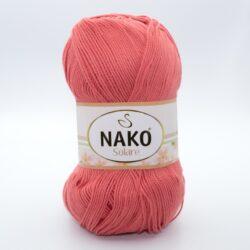 Пряжа Nako Solare 11245 коралл