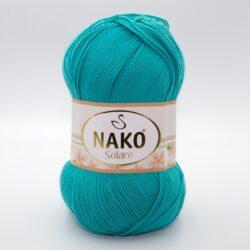 Пряжа Nako Solare 11246 бирюза