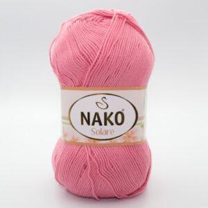 Пряжа Nako Solare 11249 коралл