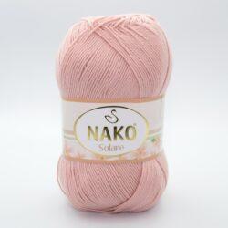 Пряжа Nako Solare 11630 светлый персиковый