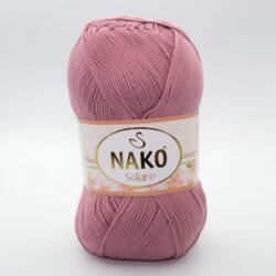 Пряжа Nako Solare 275 сухая роза