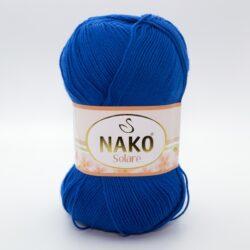 Пряжа Nako Solare 3265 синий