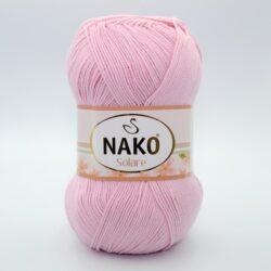 Пряжа Nako Solare 4857 нежно-розовый
