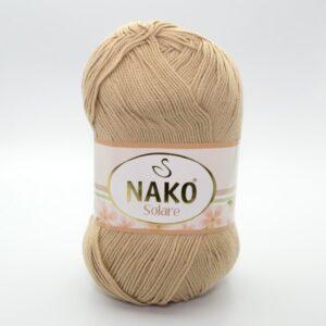 Пряжа Nako Solare 6944 песочный