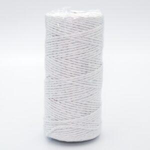 Шнур джутовый 3 мм белый