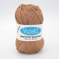Пряжа Vizell Makrome бежевый