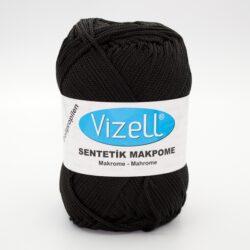 Пряжа Vizell Makrome черный