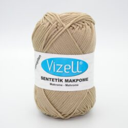 Пряжа Vizell Makrome светло-бежевый