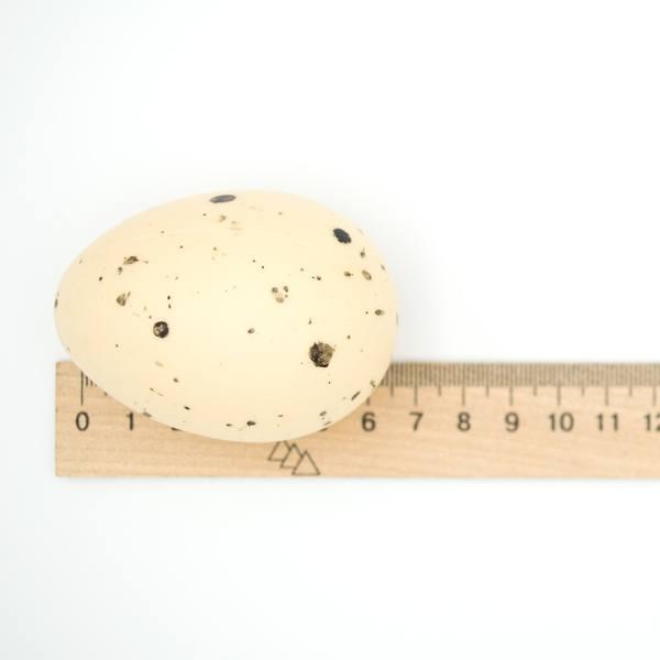 Яйцо декоративное пластик 7×5 см