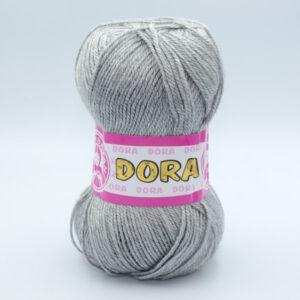 Пряжа Madame Tricote Dora 007 светло-серый