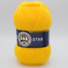 Пряжа Madame Tricote Star 029 желтый