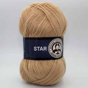 Пряжа Madame Tricote Star 079 бежевый