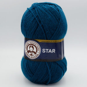 Пряжа Madame Tricote Star 101 петроль