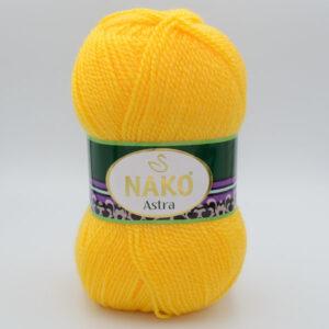 Пряжа Nako Astra 184 желтый