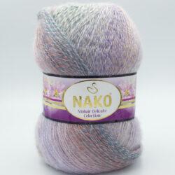 Пряжа Nako Mohair Delicate Colorflow 28098