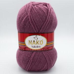 Пряжа Nako Nakolen 569 темно-розовый