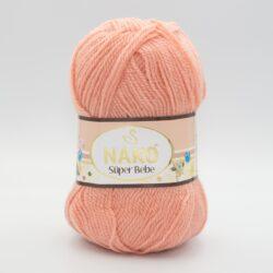 Пряжа Nako Super Bebe 2525 карамельно-персиковый