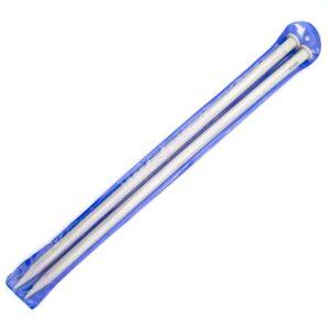 Спицы прямые для вязания 40 см 12 мм