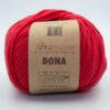 Пряжа Fibranatura Dona 106-07 красный
