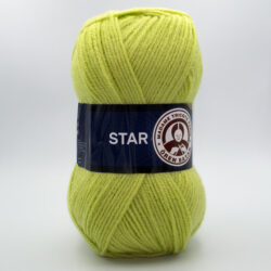 Пряжа Madame Tricote Star 064 салатовый