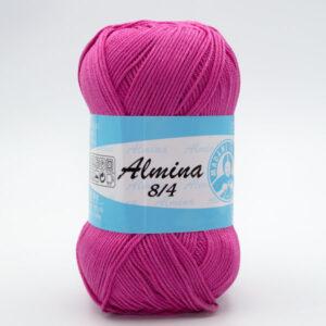 Пряжа Madame Tricote Almina 5054 малиновый