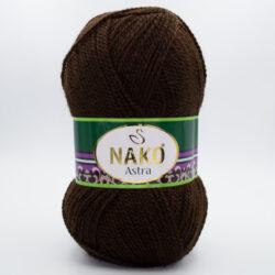 Пряжа Nako Astra 1182 шоколад