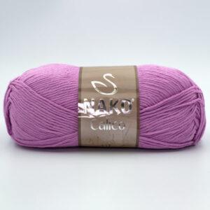 Пряжа Nako Calico 10879 розово-сиреневый