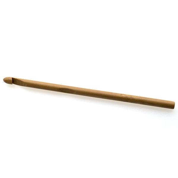 Крючок для вязания бамбуковый без ручки 6.5