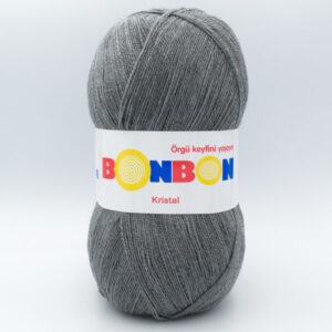 Пряжа Nako Bonbon Kristal 98242 серый