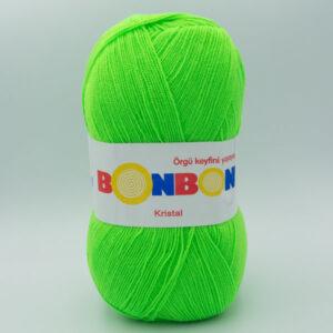 Пряжа Nako Bonbon Kristal салатовый 98395