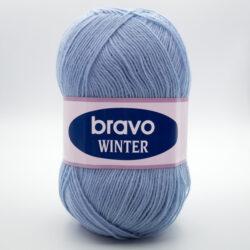 Пряжа Bravo Winter 02 светло-голубой