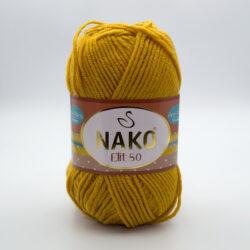 Пряжа Nako Elit 50 1636 горчичный
