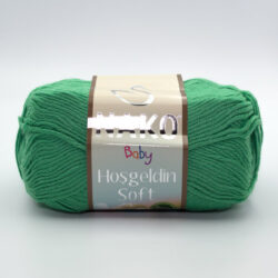 Пряжа Nako Baby Hosgeldin Soft 6739 изумрудный