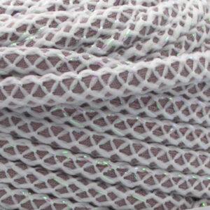 Трикотажный шнур для вязания с люрексом Therapy Yarn Pasakli бежевый