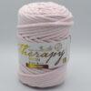 Трикотажный шнур для вязания с люрексом Therapy Yarn Pasakli нежно-розовый