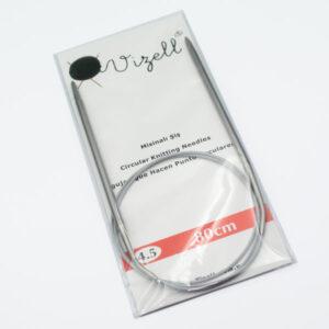 Спицы круговые на тросике Vizell 4.5 мм 80 см