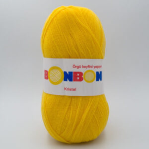 Пряжа Nako Bonbon Kristal 98217 желтый