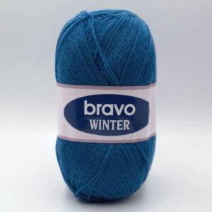 Пряжа Bravo Winter 11062 петроль